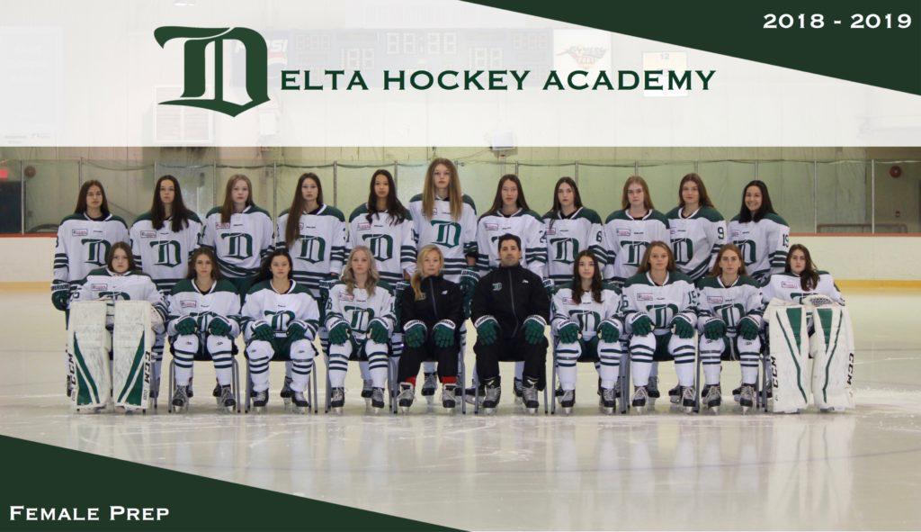 Female Prep Delta Hockey Academy