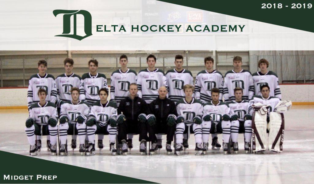 Midget Prep Delta Hockey Academy