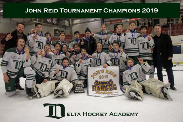 Congratulations to our Bantam Prep Green team for winning the John Reid Memorial Tournament in St. Albert!