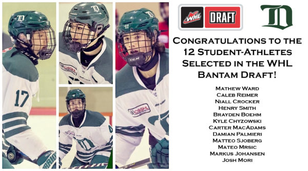 WHL draft 2019 - web header