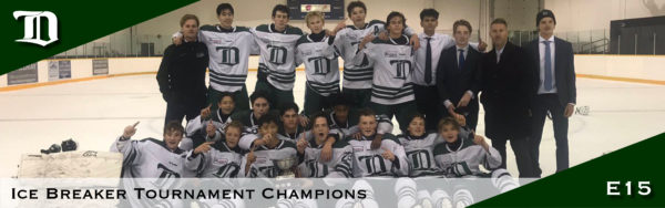 Web header - E15 ice breaker tournament champs