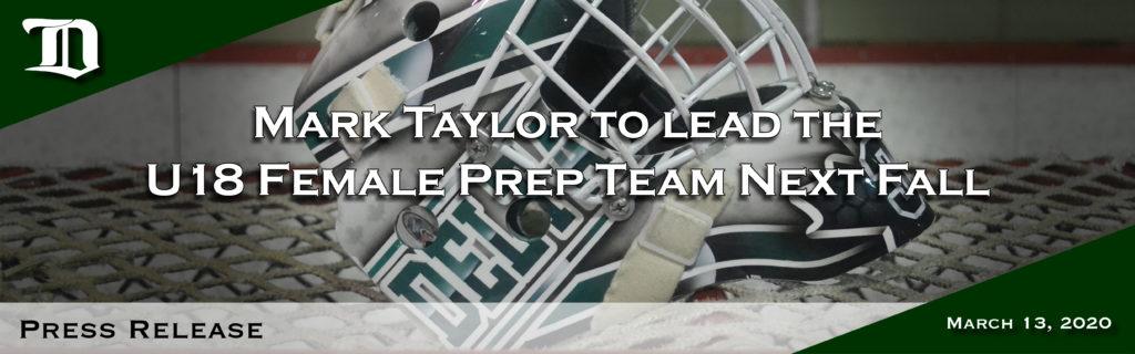 Web header - Mark Taylor press release