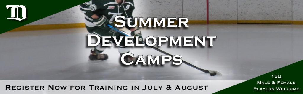 Web header - 15U summer camps