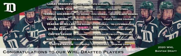 Web header - 2020 WHL Bantam Draft