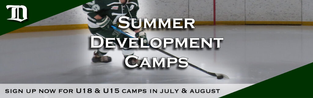 Web header - 15U 18u summer camps